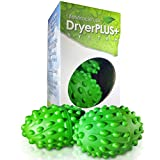 Dryer Balls XL   The Best Made Reusable Non Toxic Laundry Softener & Wrinkle Release   Replaces Fabric Softener Liquid, Dryer Sheets & Wool   Vegan & Sheep Safe   2-Year USA Warranty