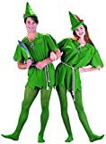 Charades unisex adult Peter Pan sized costumes, Multi-colored, Large US