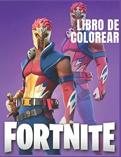 Fortnite Libro de colorear: Libro de colorear de Fortnite para niños y adultos, +50 páginas impresionantes de HQ