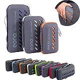 Eono by Amazon - Serviette en Microfibre, Microfiber Towel, Séchage Rapide, Ultra-absorbante &...
