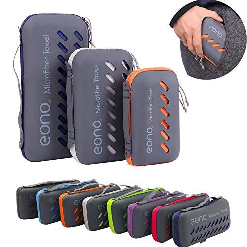 Amazon Brand - Eono Serviette en Microfibre, Microfiber Towel, Séchage...