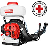 3.5 Gallon Backpack Fogger Blower Duster Leaf Blower 3-in-1 Sprayer with 3HP 2 Stroke Engine for Liquid or Dust Mosquito Insecticide Pest Control