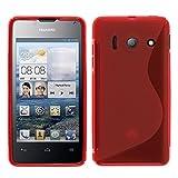 Huawei Ascend Y300 Étui HCN PHONE® S-Line TPU Gel Silicone Coque souple pour...