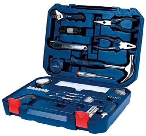 Bosch All-in-One Metal Hand Tool Kit (Blue, 108-Pieces)