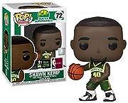 Funko Seattle Supersonics POP! NBA Legends Shawn Kemp Exclusive Vinyl Figure #72 [Green Uniform]