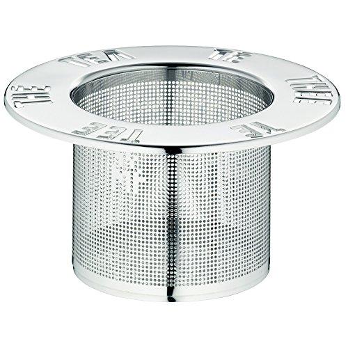 WMF Gourmet Teesieb, 4,5 cm, Ø 9,5 cm Cromargan Edelstahl poliert, spülmaschinengeeignet
