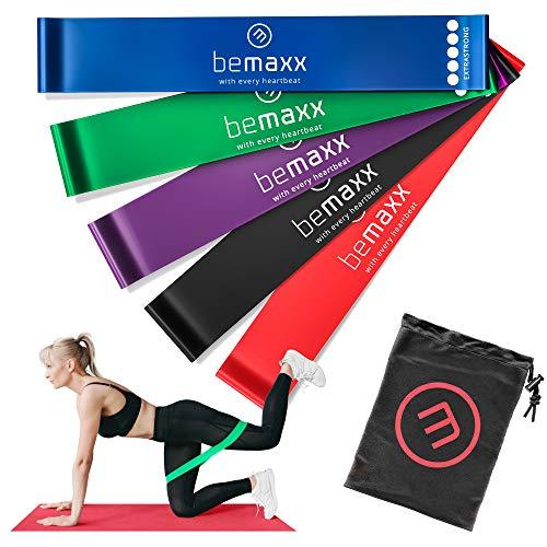 Loop Fasce Elastiche Fitness Set/Livelli Resistenza + eBook di Esercizio e Borsa | Banda Elastica...