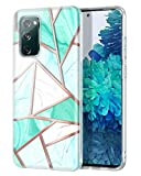 Hekodonk Compatible S20 FE 5G Case,Clear Design TPU Bumper Protective Silicone Shockproof Protective...