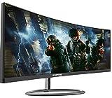 Sceptre C305W-2560UN 30-inch 21:9 Super Curved Ultrawide Creative Monitor 2560x1080p Ultra Slim HDMI DisplayPort up to 85Hz 1ms MPRT FPS-RTS Build-in Speakers, Machine Black 2020