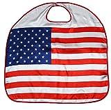 Petitebelle Thème national satin Cap unisexe Vêtements Accessoires Costume 3-8y Taille unique Etats-Unis