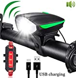 Super Bright Bike Lights, USB...