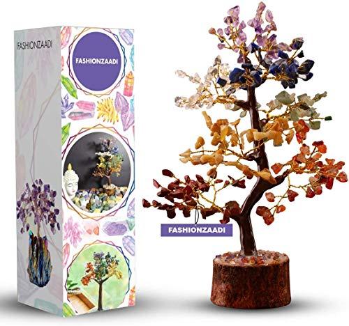 FASHIONZAADI 7 Chakra Crystal Tree Prosperity Fortune Money...