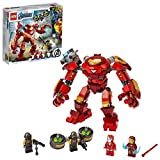 LEGO 76164 Marvel Avengers Iron Man Hulkbuster contre l'agent A.I.M., figurine actionnable