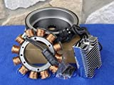 for Harley Heritage Fat BOY EVO 84-99 32 AMP Heavy Duty ALTERNATOR Charging KIT