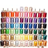 63 Brother Colors Embroidery Machine Thread