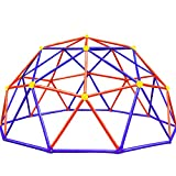 Zupapa New Upgraded Outdoor Geometric Dome Climber with 750LBS Weight Capability, 3-Year Warranty with 3D Assembly Video,Suitable for 1-6 Kids Climbing Frame(Purple)