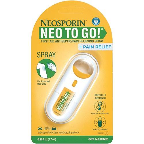 Neosporin, Neo to go! Antiseptic Pain Relieving Spray, 0.26 fl oz, 1 ct