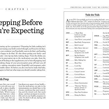 Product Image 2: What to Expect Before You're Expecting: The Complete Guide to Getting Pregnant