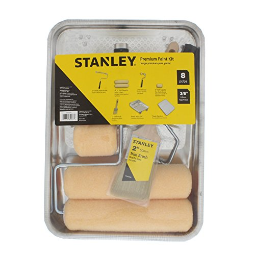 STANLEY PTST03508 8 Piece Paint Kit, TAN
