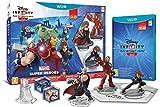 Le pack de démarrage Wii U contient le jeu vidéo Disney Infinity 2.0 : Marvel Super Heroes, 3 figurines de super-héros Marvel : Iron Man, Thor et Black Widow, 1 lecteur, 2 Toy Box Game Discs qui contiennent des mini-jeux, 1 Trophée Avengers qui déblo...