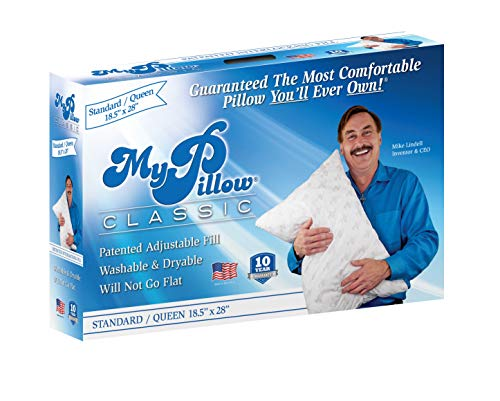 MyPillow Classic Series [Std/Queen, Firm Fill] Now Available in 4 Loft Levels