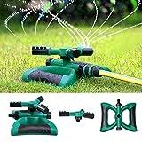 Homeme Arrosoir de Jardin - Rotation Automatique à 360 degrés - avec 3 Bras -...