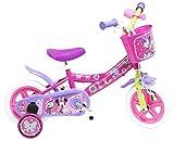 Disney Minnie Mouse Vélo Mixte Enfant, Rose, 10'
