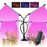 Roleadro 80W Lampe LED Horticole Croissance Floraison Grow Light avec 360°...