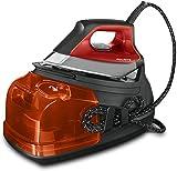 Rowenta Perfect Steam Pro DG8642 Centro de planchado, autonomía ilimitada de 7,2 bares, golpe de vapor 450 g/min, vapor contínuo 120 g/min, suela Microsteam Laser 400, función Eco y depósito cal