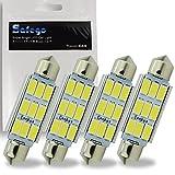 Safego 4 x C5W 42 MM LED 5730 9SMD Voiture Ampoule toit 211-2 578 212-2 ODB...