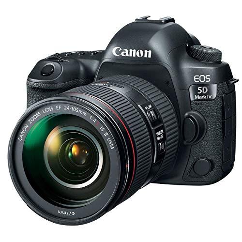 Canon EOS 5D Mark IV 30.4 MP Digital SLR Camera (Black) + EF 24-105mm is II USM Lens Kit 5