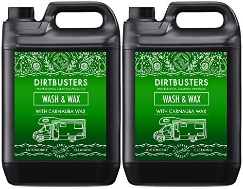 Dirtbusters Premium Caravan Motorhome Wash And Wax With Carnauba Wax Shampoo Cleaner For Professional Cleaning 5 Litres (1)