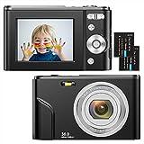 Appareil Photo Numérique Compact 1080P Mini Video Camera 2,4 Pouces 36MP...