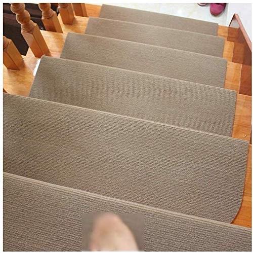 Seloom Stair Treads Carpet Non Slip With Skid Resistant Rubber   Non Slip Stair Treads For Carpeted Stairs   Walmart   Skid Resistant   Basement Stairs   Indoor Stair   Slip Resistant