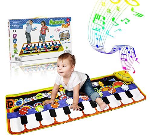 RenFox Kids Musical Mats, Music Piano Keyboard Dance Floor...