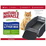 Nature's Miracle Single Cat Self-Cleaning Litter Box