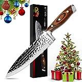 Couteau de Chef 8 pouces, HOBO Couteau de Cuisine Couteau...