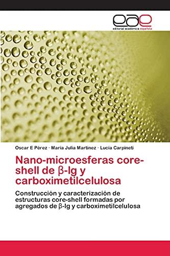 Nano-microesferas core-shell de β-lg y carboximetilcelulosa