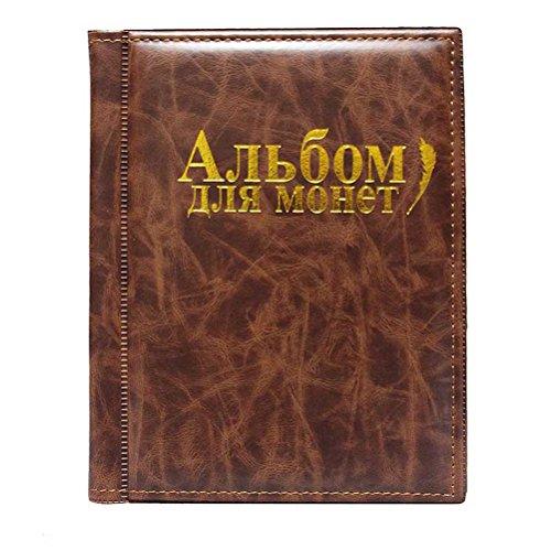 VORCOOL Album numismatique Collection rangements pour Pièces de Monnaie...