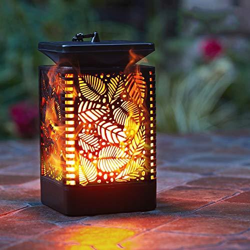 Walensee Solar Lantern Lights (2 Pack) Dancing Flame Waterproof...
