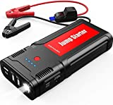 DBPOWER Car Battery Jump Starter 2500A 21800mAh - for up to 8.0L Gasoline/6.5L Diesel Engines, Portable 12V Auto Battery Booster, Power Pack, Quick Charging
