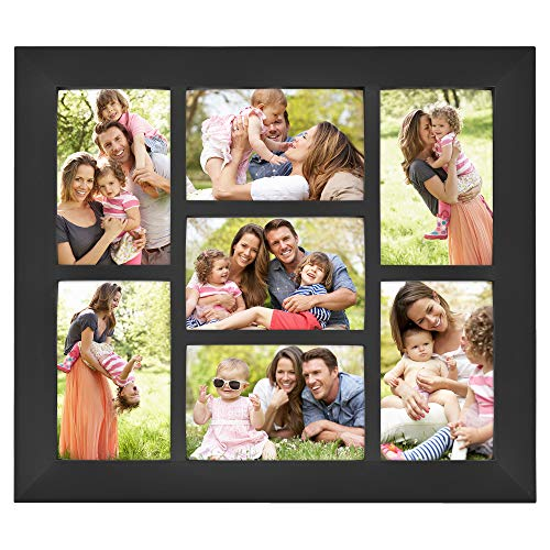 MCS 14x16 Inch Collage Picture Frame with 7-4x6 Inch Openings,...