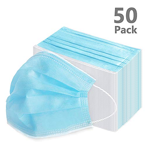 VIPITH - Confezione da 50 attrezzi antipolvere per esterni, colore: Blu
