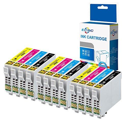 ECSC Compatibile Inchiostro Cartuccia Sostituzione Per Epson XP455 XP452 XP445 XP442 XP435 XP432...
