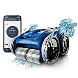 Polaris 9650iQ Sport Robotic Cleaner, Automatic Vacuum for InGround Pools up to 60ft, Smart App, WiFi, Amazon Alexa, 70ft Swivel Cable w/Strong Suction & Easy Access Filter Canister, Multicolored