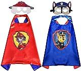 Disfraces de la Patrulla Canina para niños Miotlsy Capas de la Patrulla Canina Máscaras de Fiesta...