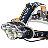 Zyuan head torch Headlamp LED Headlamp Headlamp, Super Bright Waterproof Camping Headlamp, Used For Cycling, Mountaineering, Hiking headlamp ShanDD (Color : 1)