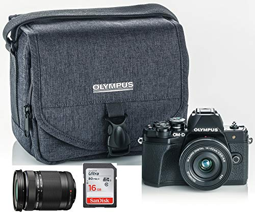 Olympus OM-D E-M10 Mark III Mirrorless Digital Camera Bundle (Black)