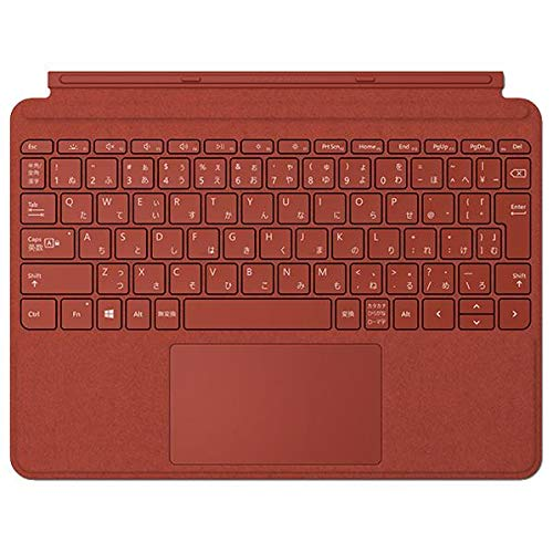 マイクロソフト Surface Go Signature タイプ カバー ポピーレッド KCS-00102