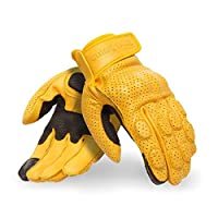 Tone down the summer heat with the Burnish Gloves by Royal Enfield. The breathable air mesh and its unique perforated construct enable efficient airflow around your hands. Thus, keeping them sweat-free and cool without comprimising on protection. Con...